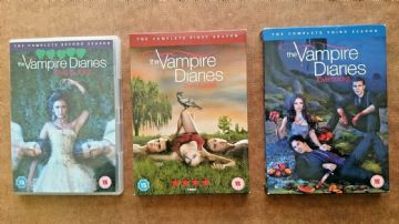 The Vampire Diaries Collection  - Series 1 - 3 Complete (DVD, 2010-2012 )